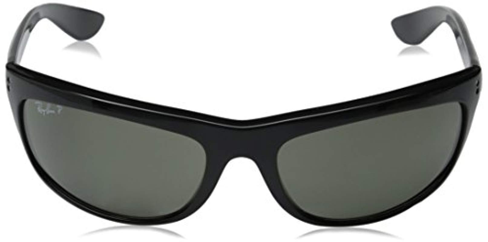 77bc9ab5db Ray-Ban - Sunglasses - Rb4089 Baloram Frame  Black Lens  Crystal Green  Polarized. View fullscreen