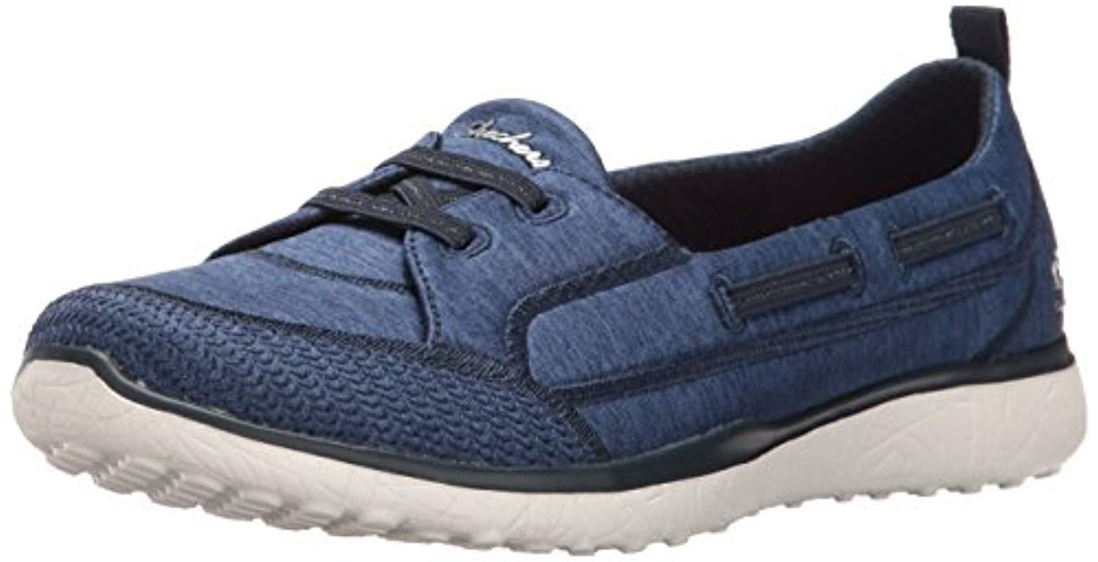 Lyst Skechers Microburst Topnotch Sneaker in Blue