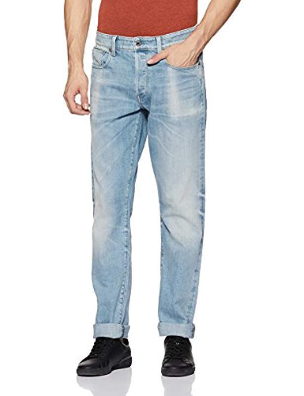 Lyst - G-Star Raw 3301 Tapered-fit Jean In Nippon Stretch Denim in ... 05845f588b8c