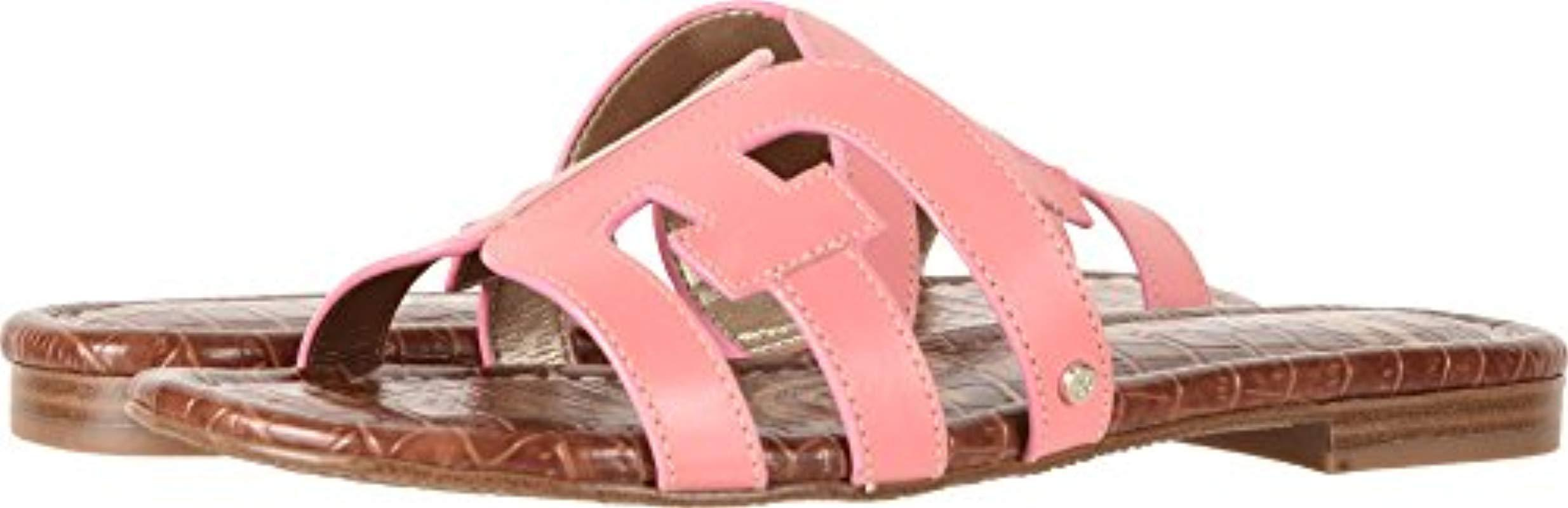 b9fcf87616c3c Lyst - Sam Edelman Bay Slide Sandal in Pink - Save 5.263157894736835%