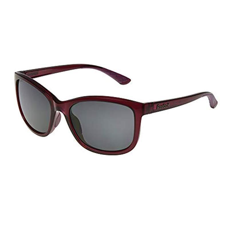 9fc583396cd Reebok. Women s Brown Rbs 10 Bry No Polarization Cateye Prescription Eyewear  ...