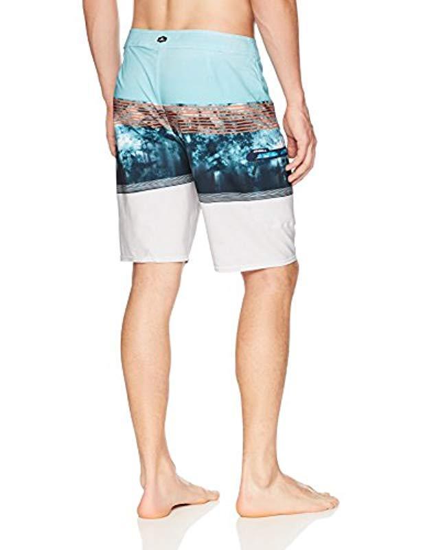 4ce6dcdd7a Lyst - O'neill Sportswear 20 Inch Outseam Hyperfreak Stretch Swim Boardshort  in Blue for Men - Save 13%