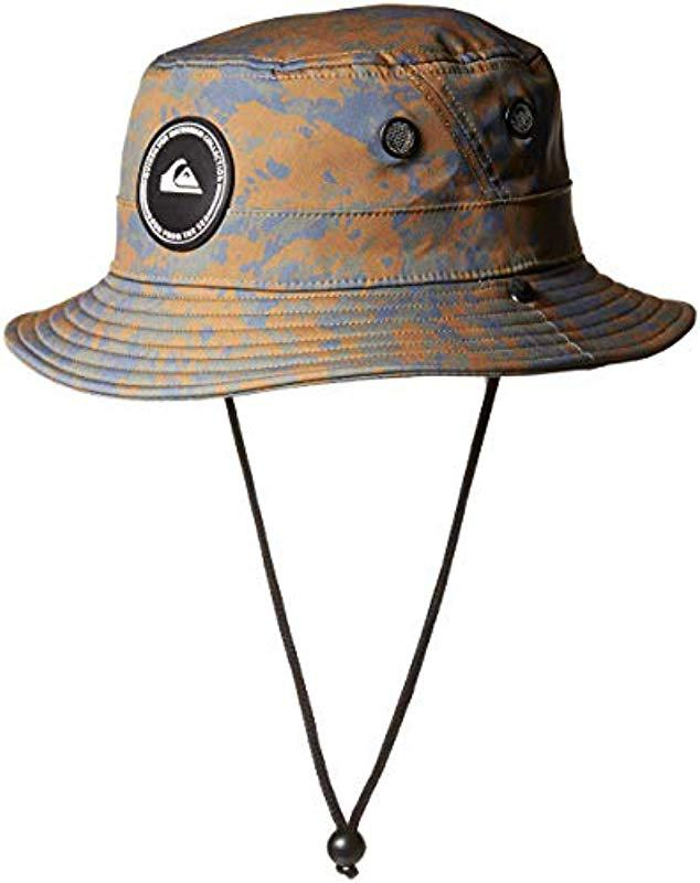Lyst - Quiksilver Stay Cool Bucket Hat for Men - Save 47% a6c0da8e89b