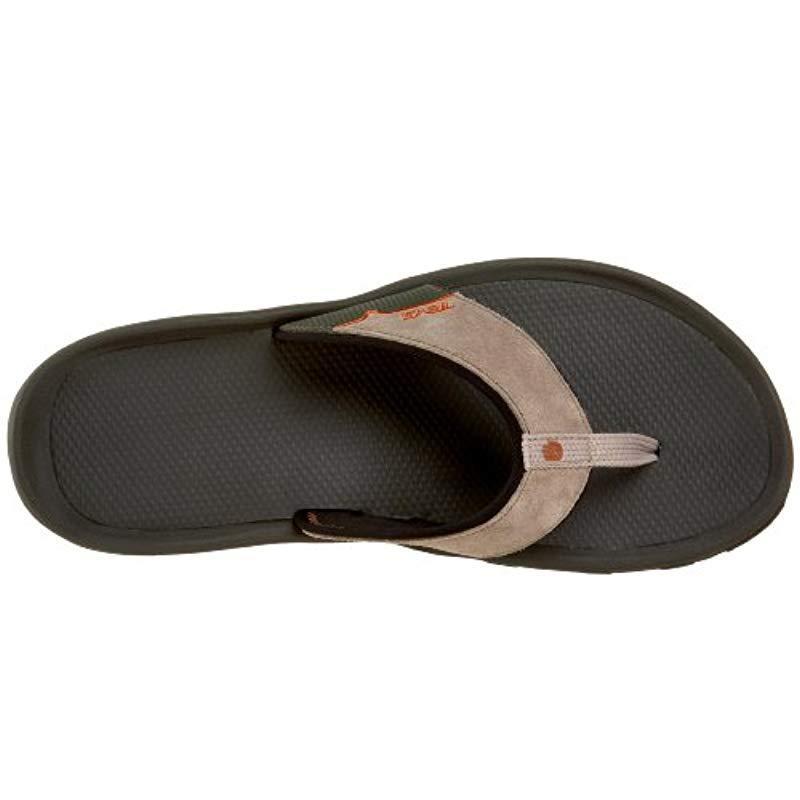 106437c6086 Lyst - Teva Katavi Thong Outdoor Sandal