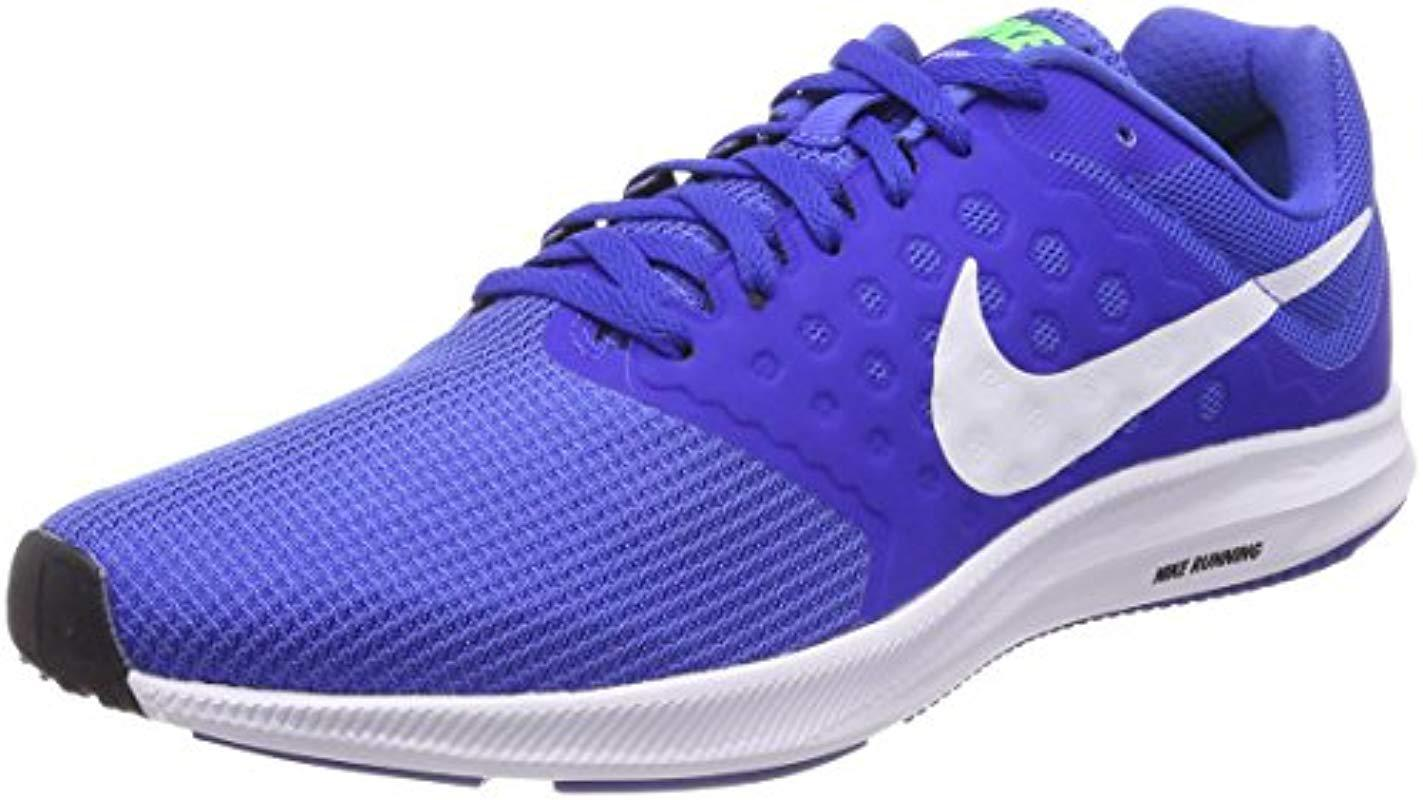 80b855b84414d Lyst - Nike Downshifter 7 Running Shoe in Blue for Men