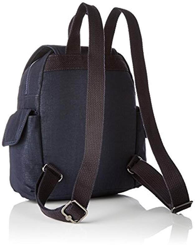 Kipling City Pack Mini Backpack in Blue - Save 9% - Lyst d8fca79c0b