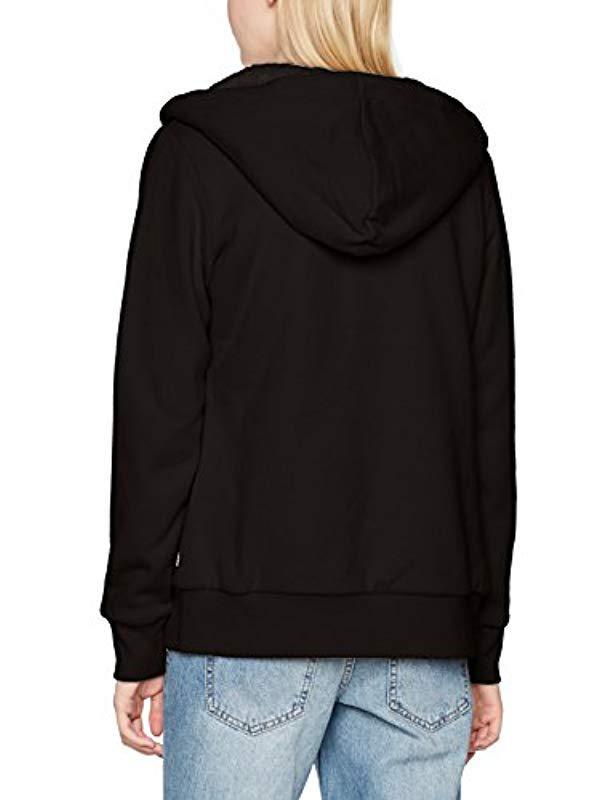 Vans Hearsay Zip Hoodie in Black - Lyst 2bdf48ccd1