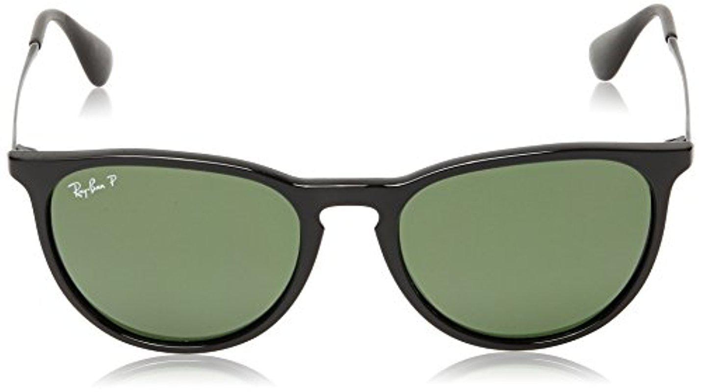 40bef4906f0 Lyst - Ray-Ban Erika - Black Frame Polar Green Lenses 54mm Polarized ...