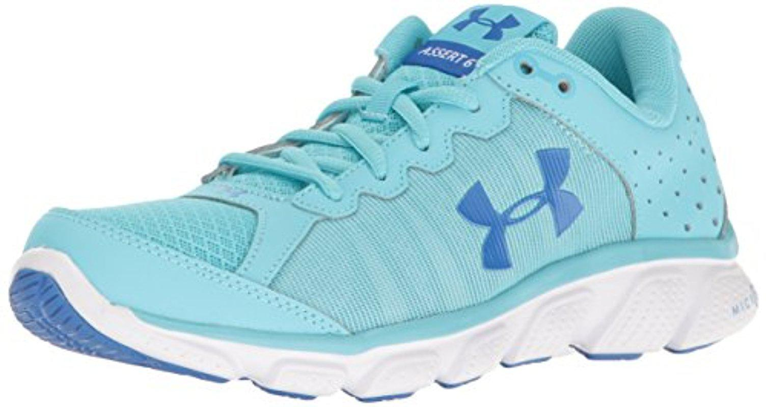 9e66dd5e6eee1 Lyst - Under Armour Micro G Assert 6 Running Shoe in Blue for Men