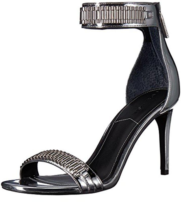 Miaa bead-embellished leather sandals Kendall + Kylie wLmaC