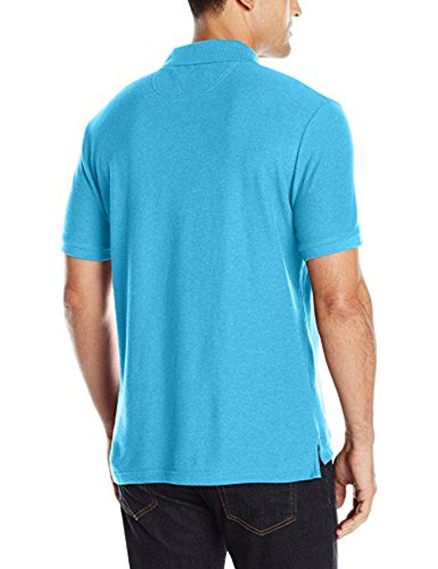 Lyst - Original Penguin Classic Fit Daddy-o Polo in Blue for Men 712d3e16c6e96