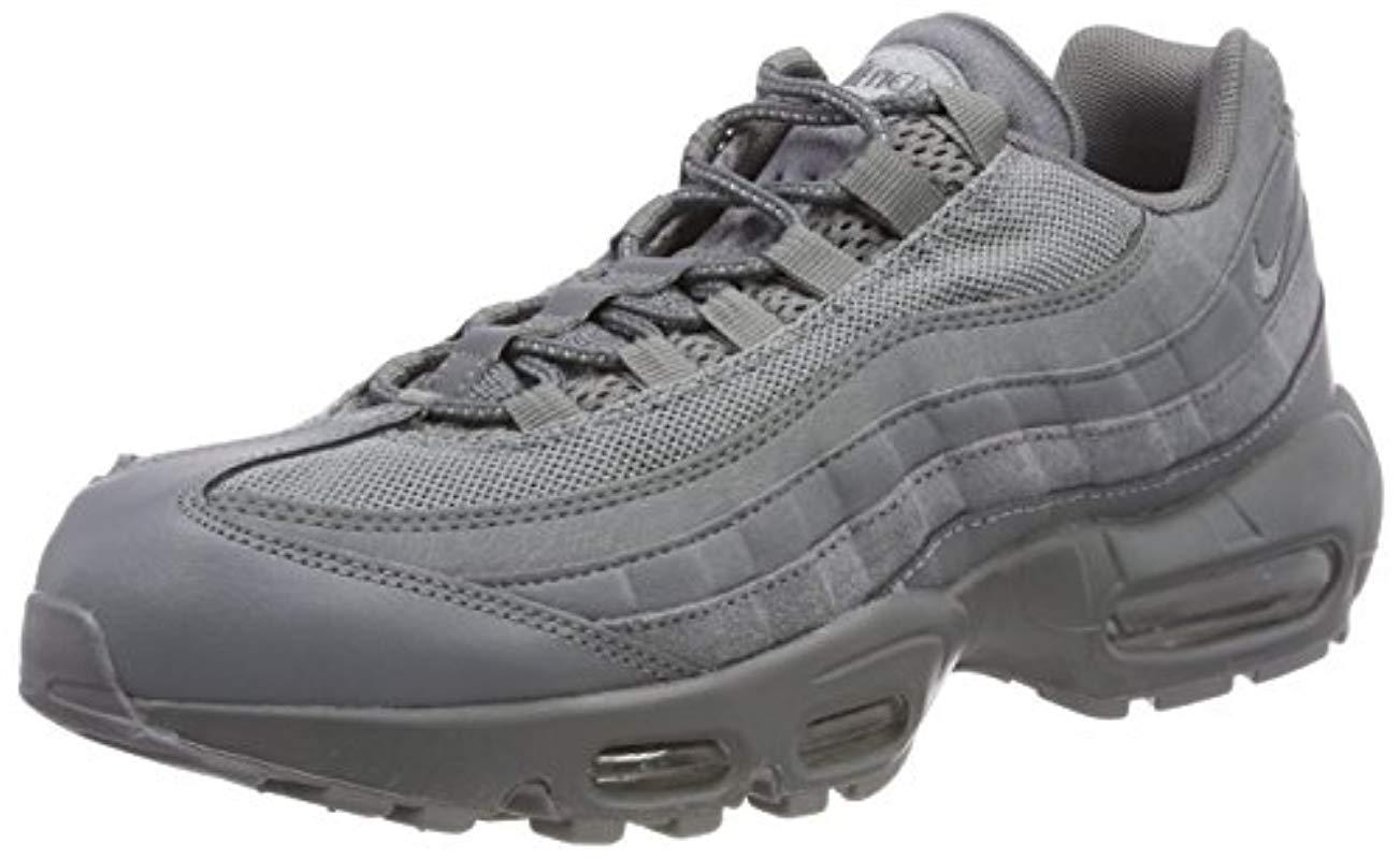 f85472a84febf Nike Air Max 95 Essential Gymnastics Shoes in Gray for Men - Lyst nike air  max