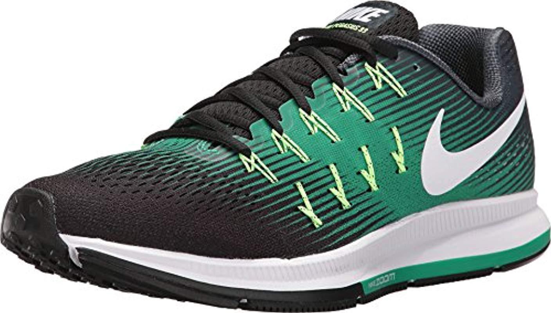 promo code 10010 dfdbf Nike. Men s Green Air Zoom Pegasus 33 ...