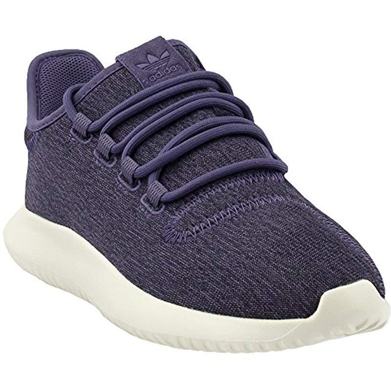 lyst adidas originali tubulare ombra w moda scarpe viola