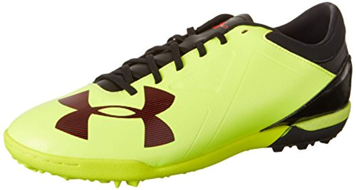 b822ca93f Under Armour Ua Spotlight Tf Football Boots in Yellow for Men - Lyst
