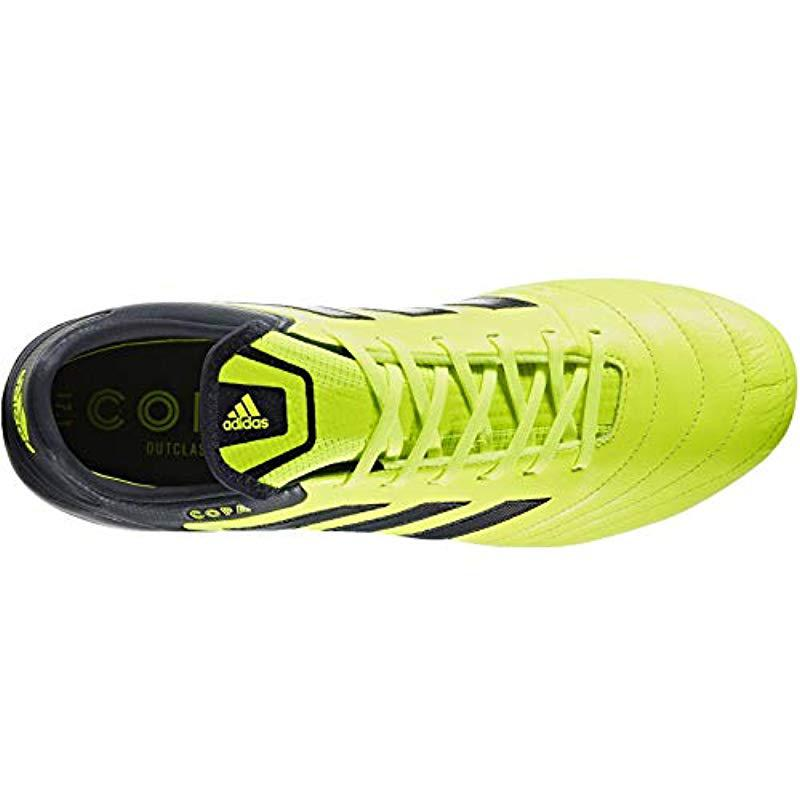 c637a9ecc7ed0 adidas Copa 17.1 Fg Football Boots in Yellow for Men - Lyst