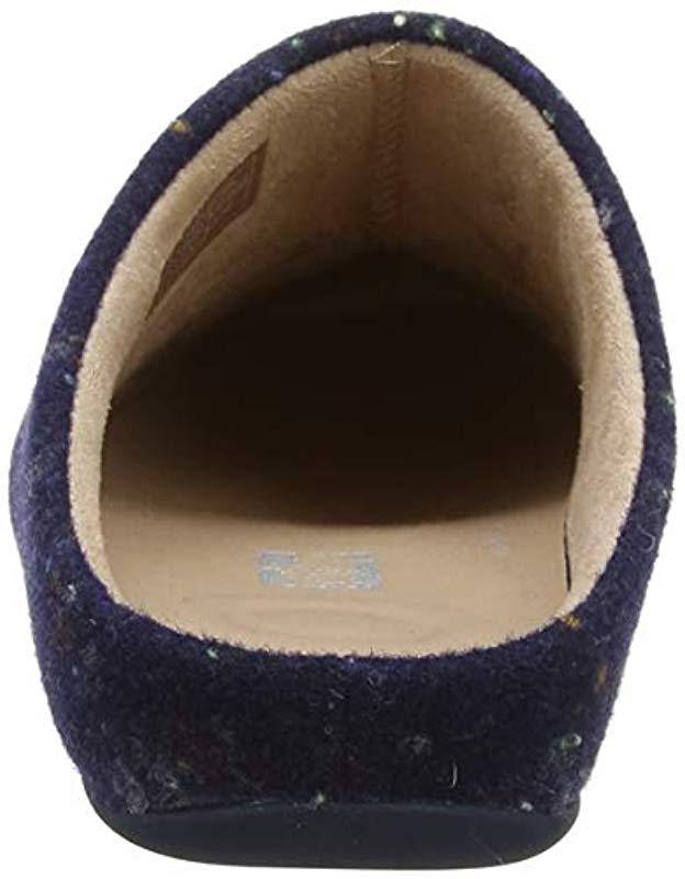 c2da3bed0 Fitflop Chrissie Speckle Open Back Slippers in Blue - Save  56.36363636363637% - Lyst