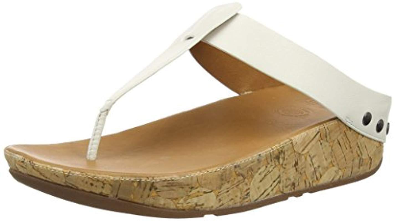 5cc68257d3eb5b Fitflop  s Ibiza Cork Sandals in White - Lyst