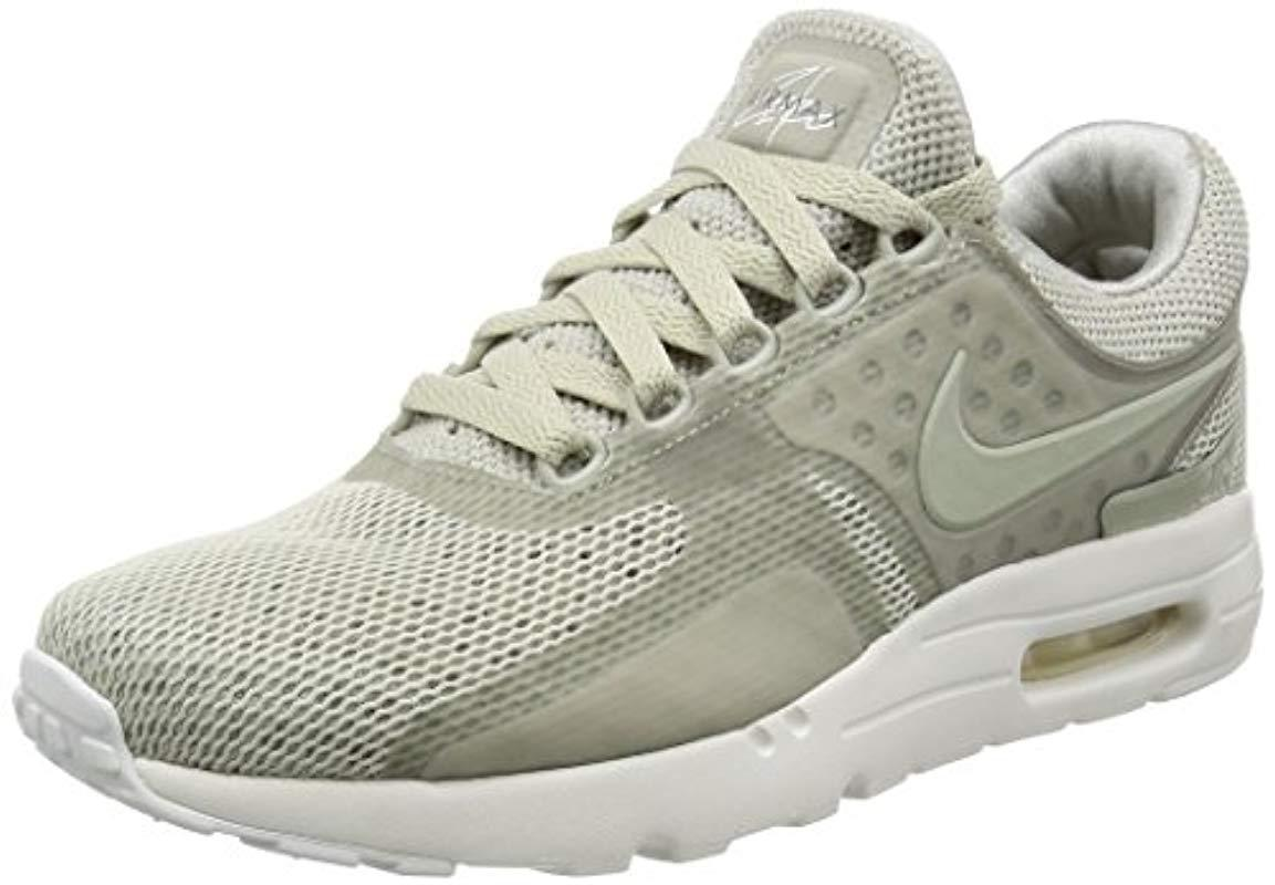 lower price with 63a5b 622f3 Nike. Mens Gray Air Max Zero Essential Trainers