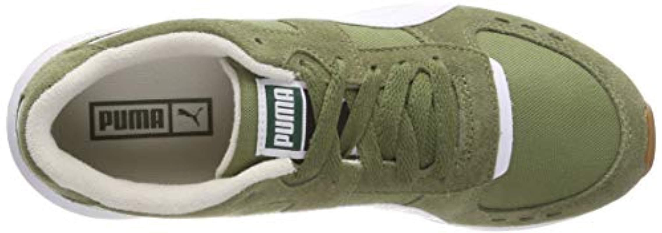Puma Wn's Low Nylon Top Rs Lyst In Green Sneakers 150 wIrtEIfaq