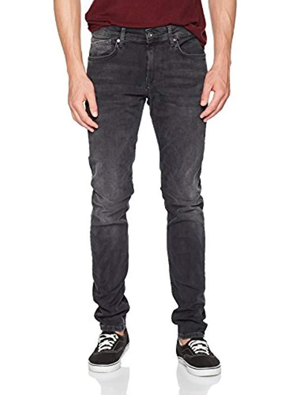 7005619c94f Pepe Jeans Finsbury Pm200338 Skinny Jeans in Black for Men - Save 62 ...