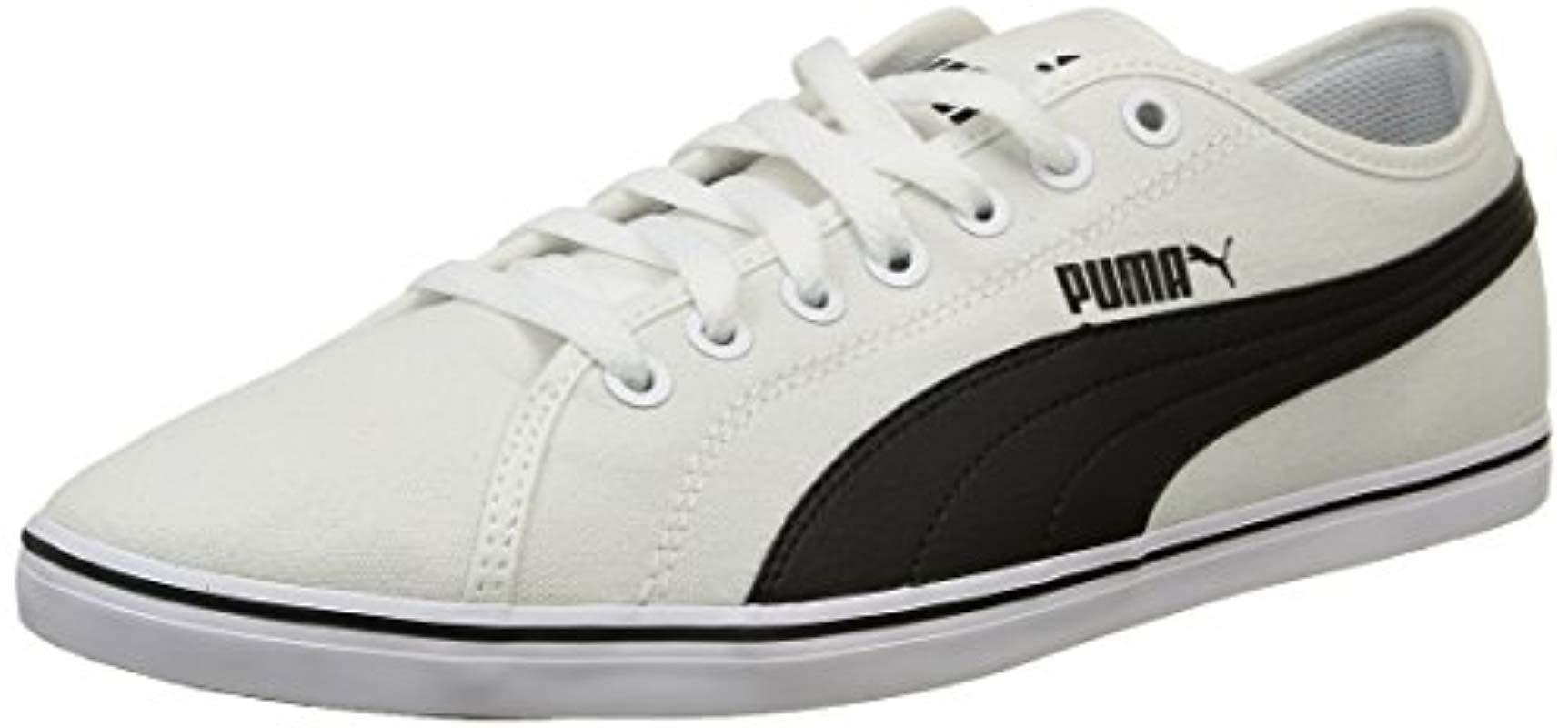 Puma Unisex Adults  Elsu V2 Cv Low-top Sneakers Black in Black for ... 90620d77f