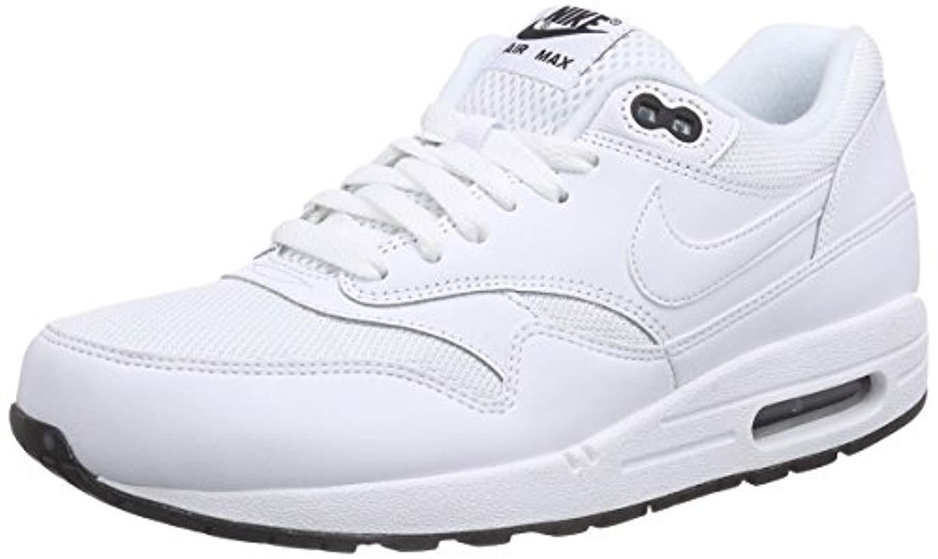 8886e9a75f Lyst - Nike Air Max 1 Essential S Running Shoes White in White for Men
