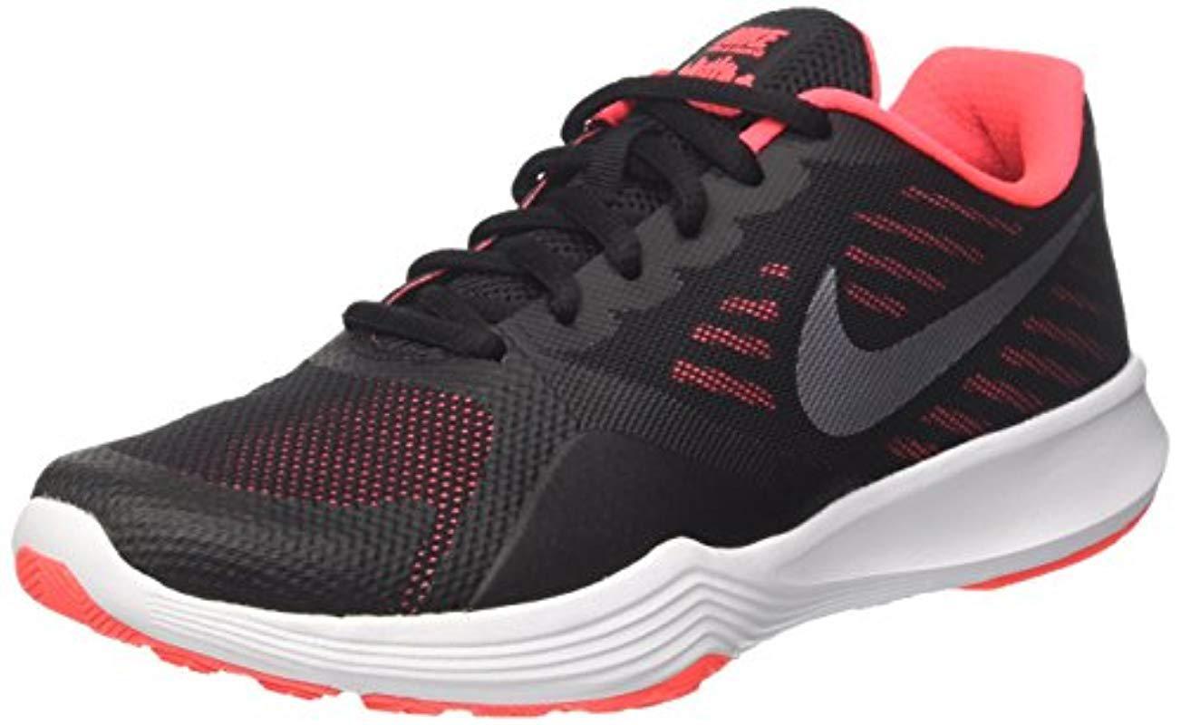 ec0614b3d1f2 Nike Wmns City Trainer Gymnastics Shoes in Black - Save ...