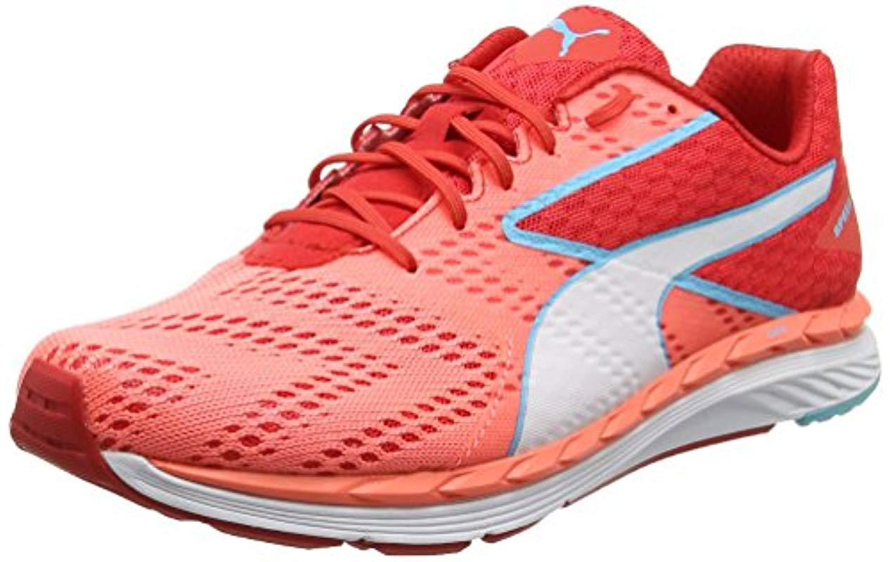 wholesale dealer 5ca9f 68818 puma-Red-Poppy-Red-nrgy-Peach-04-s-Speed-300-S-Ignite-Multisport-Outdoor- Shoes.jpeg