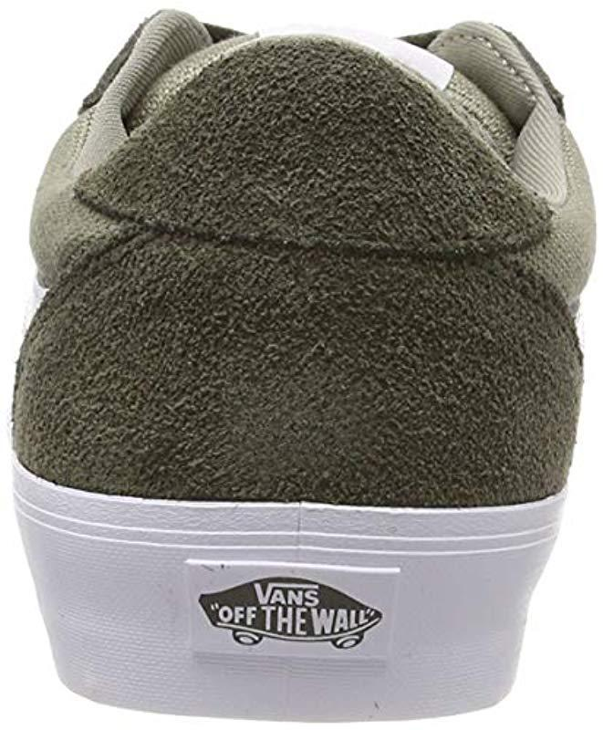 63a89ead0da Vans Palomar Trainers in Green for Men - Lyst