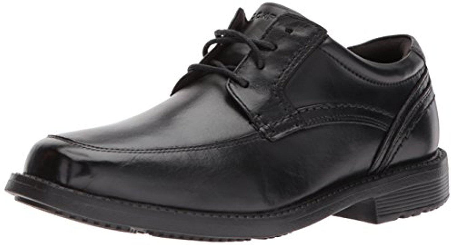 Mens Style Leader 2 Apron Toe Black Derbys Rockport 1AgujND530