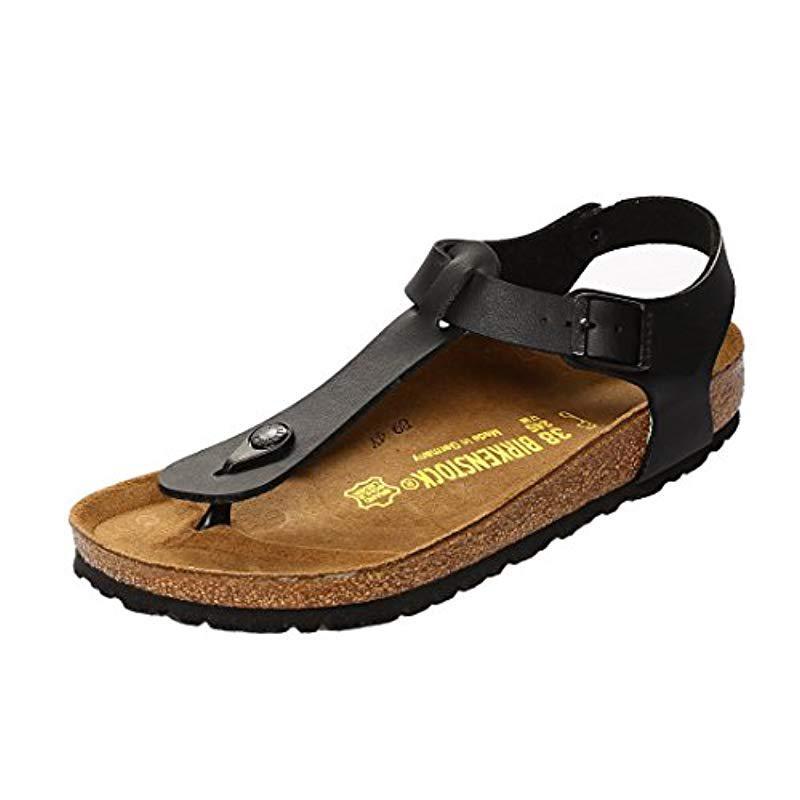 Birkenstock - Kairo Birko-flor Nubuk - Sandals Unisex in Black - Lyst d5bd7009412