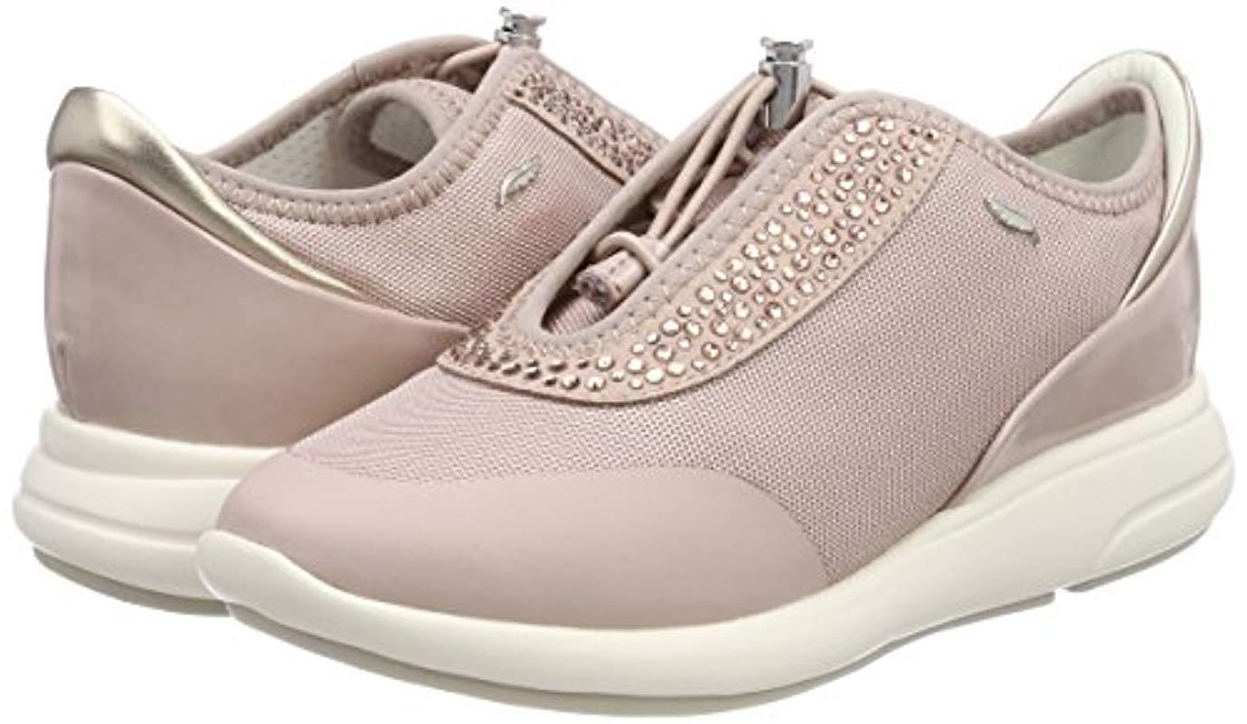 066b11220df4d Geox D Ophira E Low-top Sneakers in Pink - Lyst