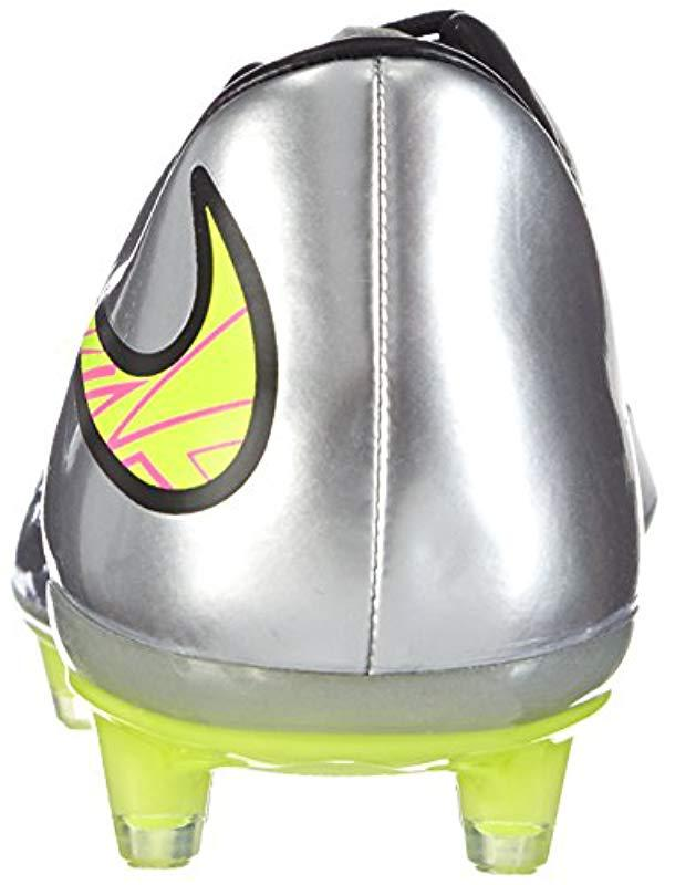 best sneakers 27b94 86e45 ... purchase nike hypervenom phatal premium fg liquid diamond football  training in gray for men lyst d883b