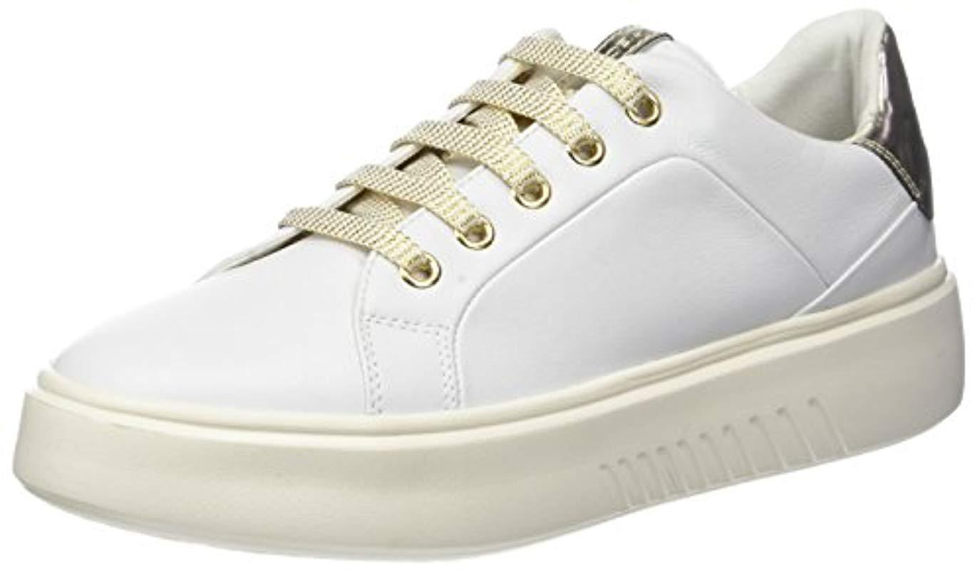 Geox  s D Nhenbus A Low-top Sneakers in White - Lyst 7a1272e4365