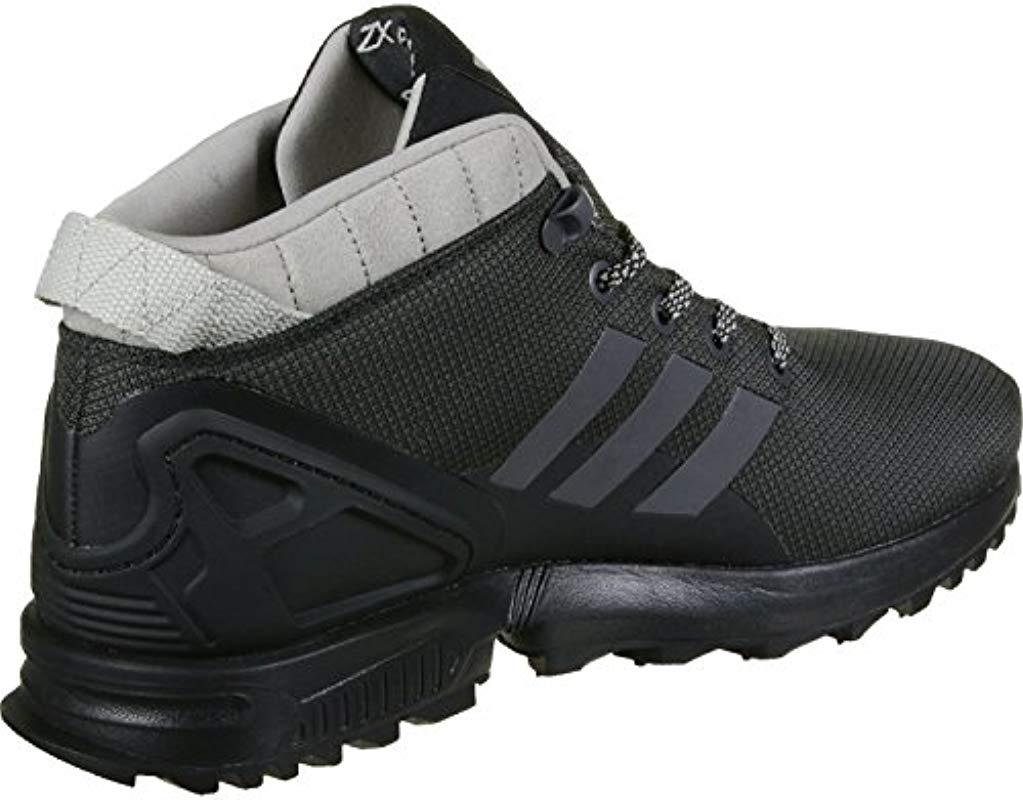 huge discount ae69b 8d3eb adidas. Mens Black Zx Flux ...