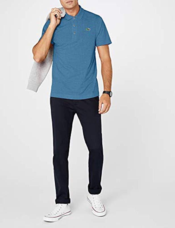 bc6728c4a0 Lyst - , Polo Homme Lacoste pour homme en coloris Bleu