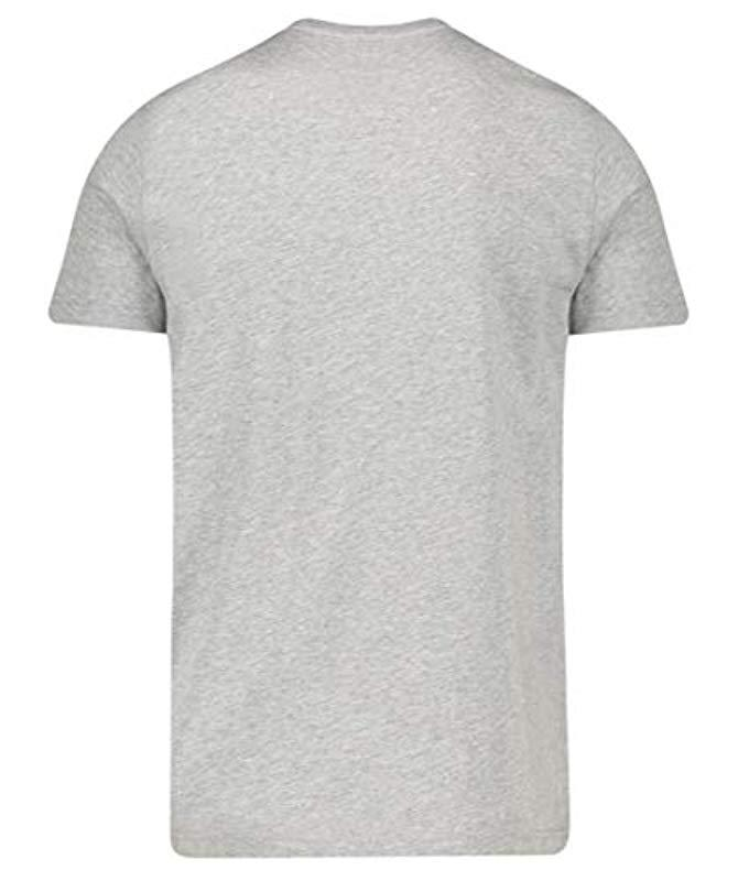 bd0c9169 Tommy Hilfiger 's Corp Flag Tee T in Gray for Men - Lyst