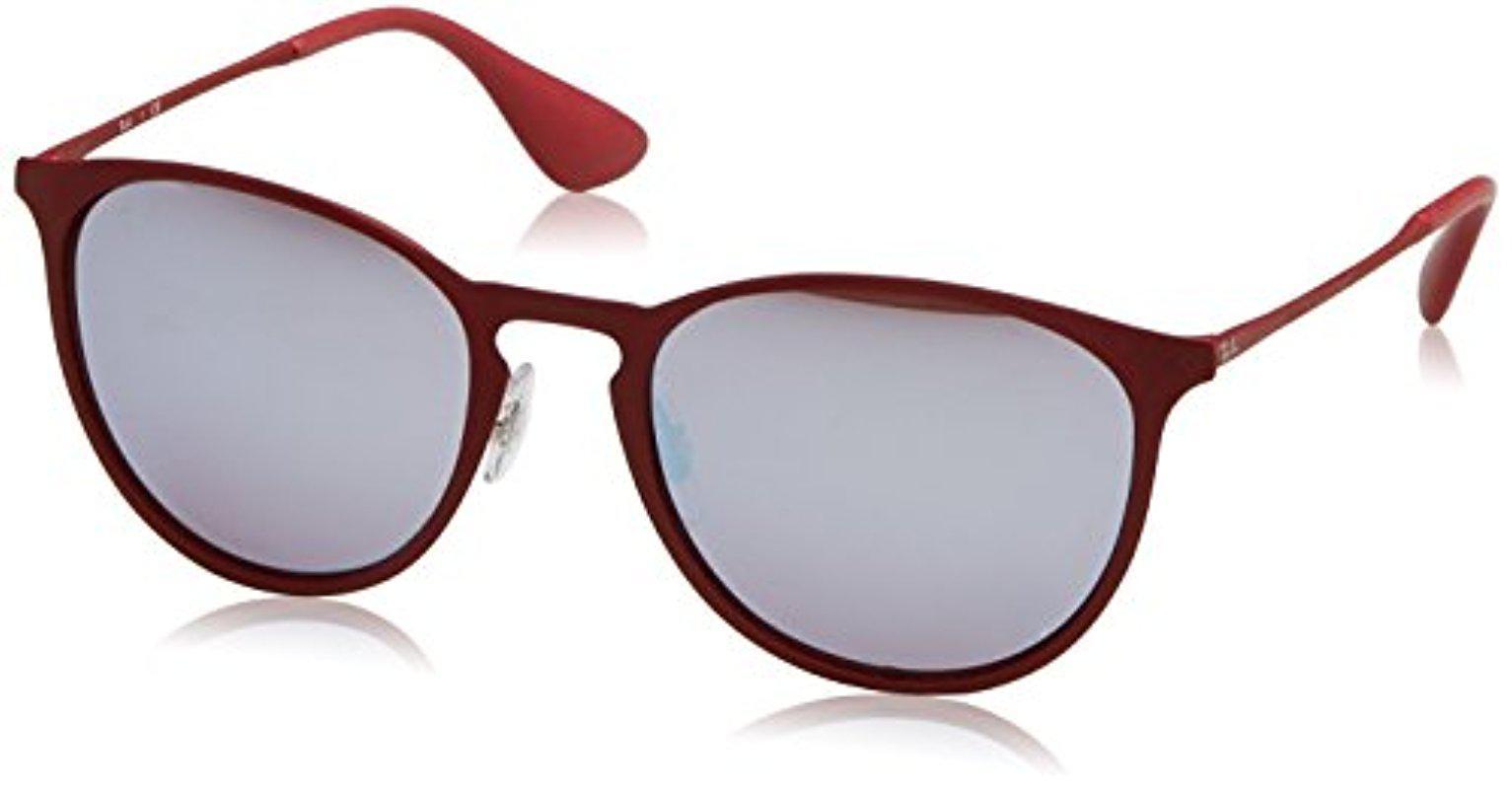 b15d151adb Lyst - Ray-Ban Erika Metal Rb3539 Non-polarized Sunglasses