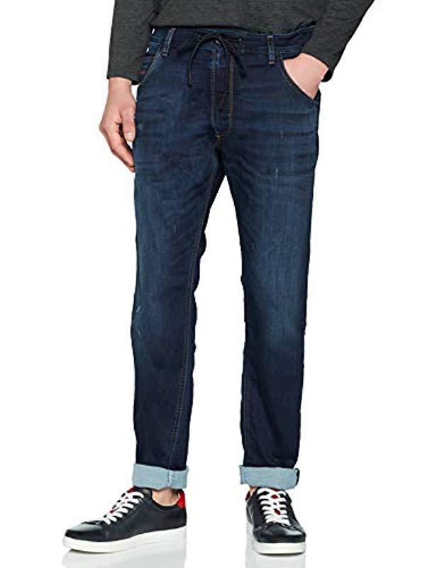 d6308661 DIESEL 's Krooley Cb-ne Sweat Jeans Slim in Blue for Men - Lyst