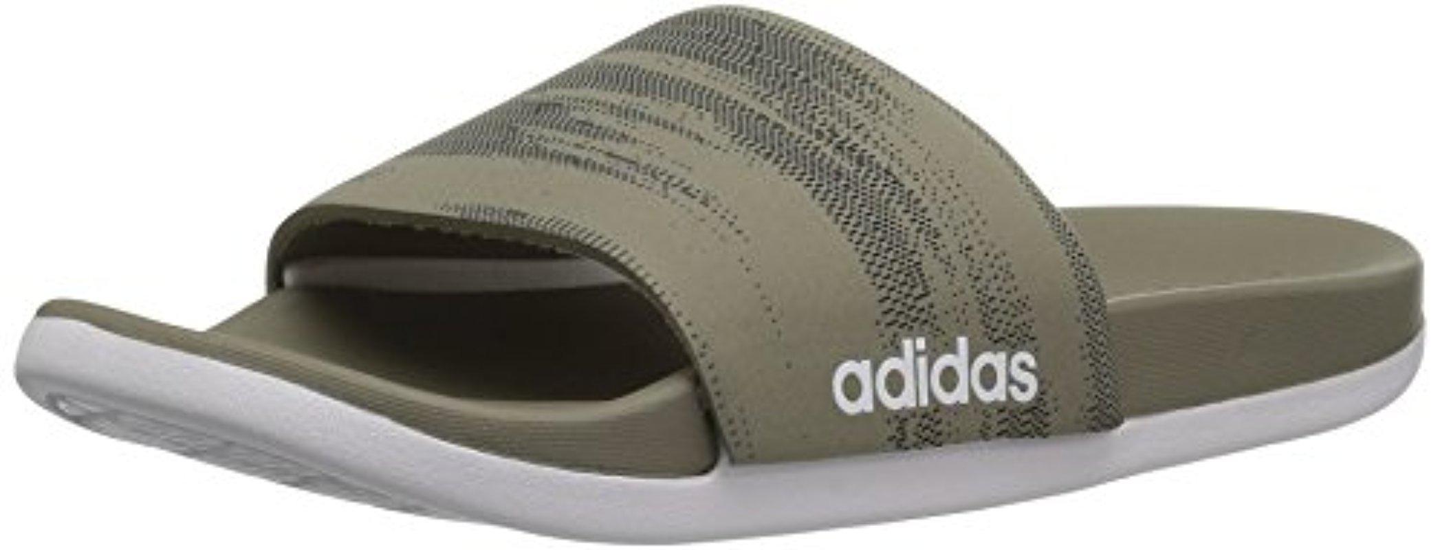 86fa4390d36b Lyst - adidas Originals Adidas Adilette Cf+ Link Gr Slide Sandal ...