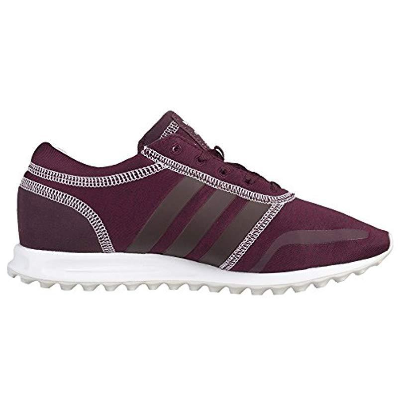 timeless design 47b32 6c427 Adidas - Purple Los Angeles W Low-top Sneakers - Lyst. View fullscreen