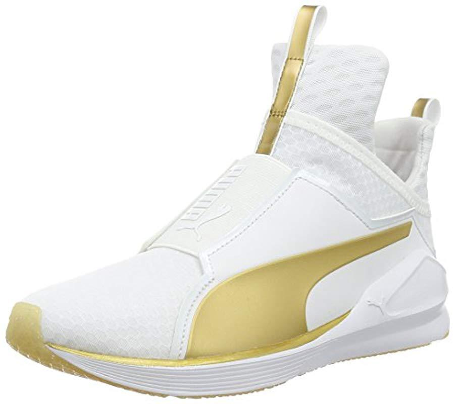 Sneakers Lyst 32 En Blanc Basses De Femme Coloris Fierce Puma 5TwT6q