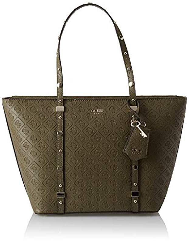 Guess Coast To Coast Tote in Green - Lyst 840d57301a7f9