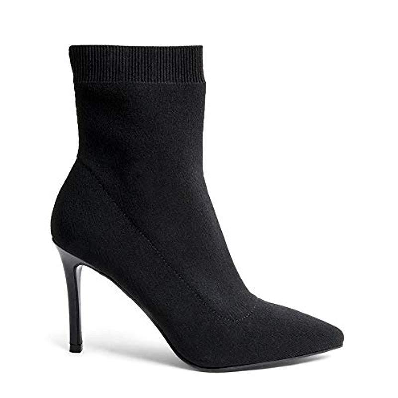 d6b439a754e Steve Madden Claire Ankleboot Ankle Boots in Black - Lyst
