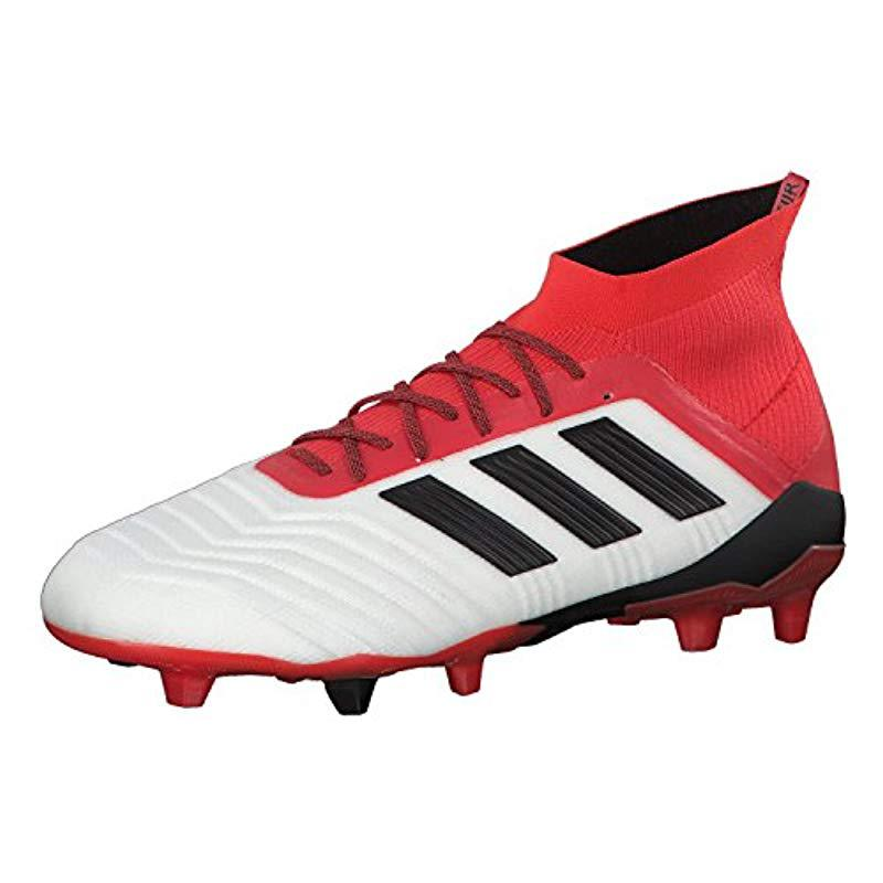 f7d90b2daece adidas   s Predator 18.1 Fg Football Boots in Red for Men - Lyst