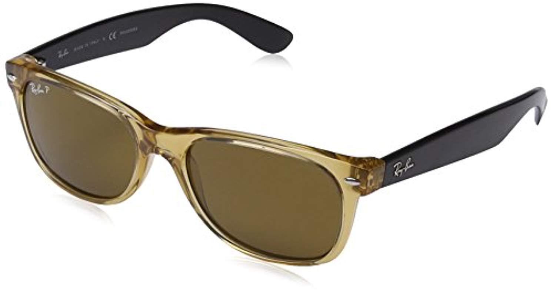 a5c5fe376a Ray-Ban Rb2132 New Wayfarer Sunglasses in Metallic - Lyst