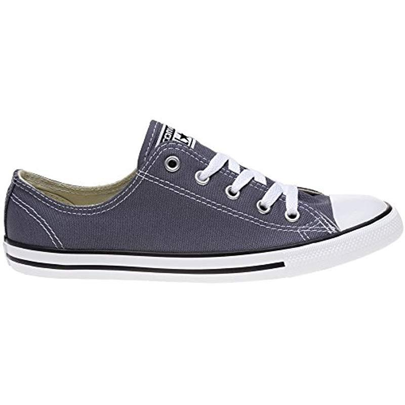 7cac8879f62c Converse - Blue Chuck Taylor Ctas Dainty Ox Canvas Fitness Shoes - Lyst.  View fullscreen