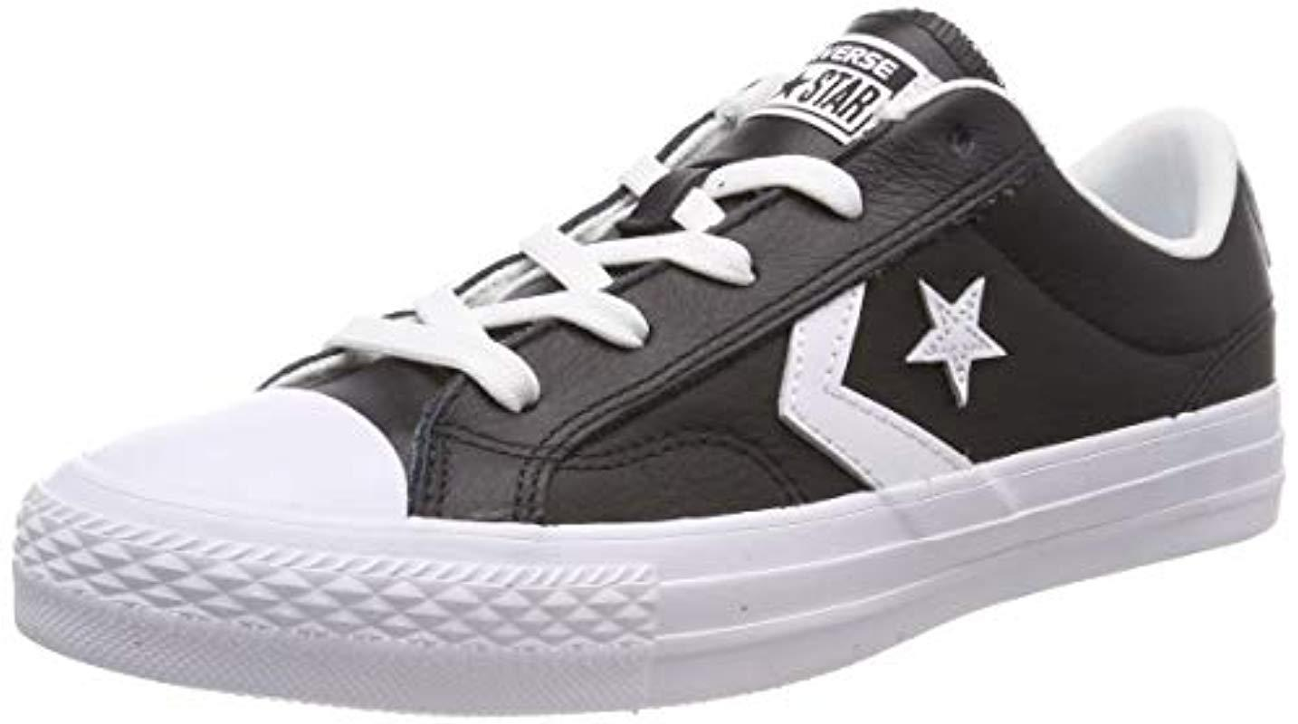 527fad5802a3 Converse - White Lifestyle Star Player Ox Leather