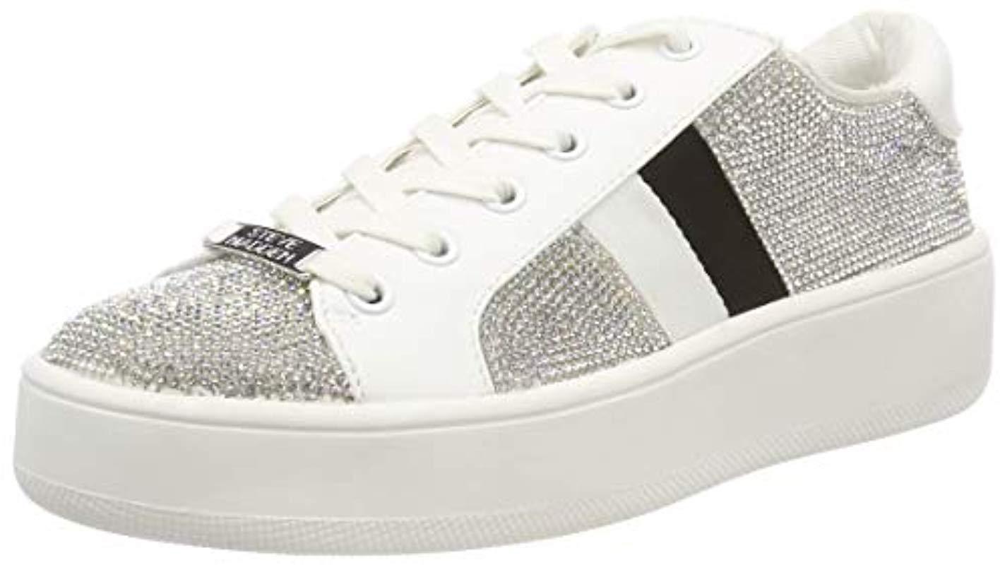 bb64da4c85b Steve Madden  s Belle-r Sneaker Trainers - Lyst